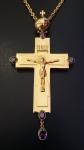 Крест наперсный литое распятие